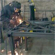 recogida de residuos para carpintería metálica