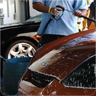 recogida de resiudos en lavaderos de coches